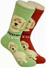 New Foozys Brand Ladies Labradoodle Dog Novelty Socks Size 4-10 Choose Color