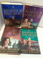 A Banner is Unfurled SERIES Volumes 1-4 Set by Gallacher & Robinson LDS Mormon
