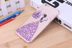 iPhone Samsung Schutzhülle Bumper Strass Steine Case Cover Schale Mädchen Motiv