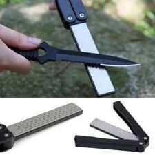 Knife Sharpener /Double-Sided Folding 400/600 Grit Diamond Pocket Hunting Tool
