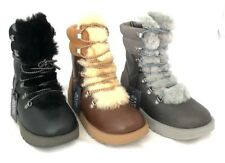 UGG Viki Waterproof Seam-Sealed Leather Suede & Sheepskin Women's Winter Boots