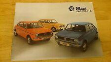 1976 Austin Maxi Brochure