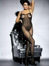 Intimo Donna Lingerie Obsessive Body L400 Sexi Provocante Catsuit Nera