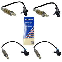 ACDelco Complete Oxygen Sensor Set (4) For Cadillac GMC Chevrolet Oldsmobile