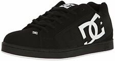 DC Shoes NET SE Mens Net Skateboarding Shoe, Black/White/Black, 9 D US