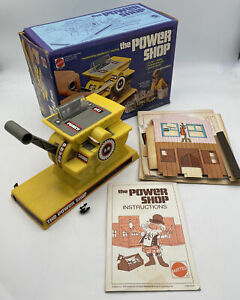 Mattel The Power Shop in Original Box Works With Instructions 2359 Vintage 1978