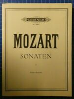 Edition Peters No.486a Mozart Sonaten I Klavier  H8229