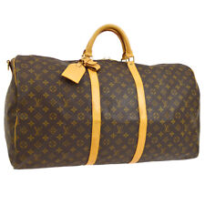 LOUIS VUITTON KEEPALL BANDOULIERE 60 2WAY TRAVEL HAND BAG MONOGRAM BT16805c
