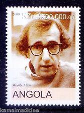 Woody Allen, American actor, Comedian, filmmaker, Angola 2000 MNH