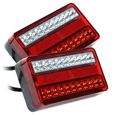 2x 12V LED Anhänger Rücklicht Hänger Rückleuchten Heckleuchte Beleuchtung