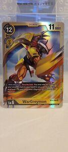 Digimon WarGreymon SR BT4-048 Super Rare | Great Legend Mint