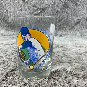 Vintage Ryan Express 25 years in Majors Glass Nolan Ryan Texas Baseball