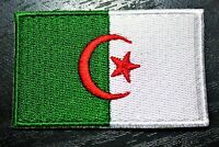 ALGERIA Algerian Country Flag Embroidered PATCH Badge *NEW*