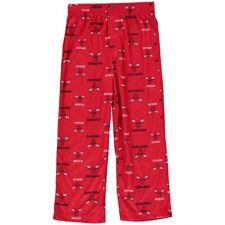 """NBA Youth Boy's Chicago Bulls Logo """"All Over Print"""" XS 4/5 Pajama Sleep Pants"""