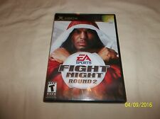 Fight Night: Round 2 (Microsoft Xbox, 2005)(COMPLETE)
