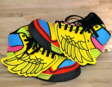 AUTHENTIC ADIDAS JERMY SCOTT  JS WINGS US M7.5 / W9 100% REAL & RARE MULTI COLOR