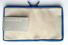 (rare++++) TSUKUSHI Pen Case, Pencil Case, Holder Sleeve Japan Blue Japan NEW