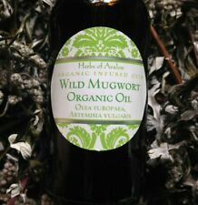 Wild Mugwort Organic Oil, Infused Artemisia vulgaris - Protects Dreams Skincare