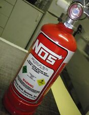 NOS bottle Fire extinguisher Nitrous Oxide NOZ NX ZEX sticker decal kit