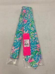 Men's Lilly Pulitzer Coral Bay Tie Multi-Color NWT