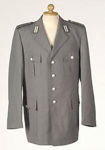 BW Uniformjacke Uniform Jacket Heer grau gebraucht Größe M Fernmelder