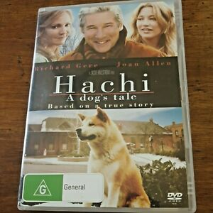 Hachi a Dog's Tale DVD R4 Like New! – FREE POST