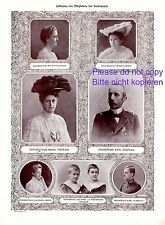 Erzherzog Karl Stephan von Österreich XL 1908 Fotoabb. Herzogin Maria Theresia