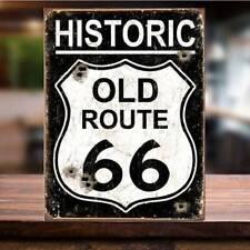 American Vintage ROUTE 66 USA ROAD Man Cave Shed Pub Bar Garage Metal Sign retro