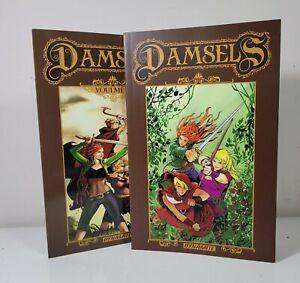 Damsels Vols. 1 & 2 TPB (Dynamite, 2015) | Great Condition!
