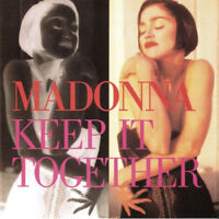CD MAXI MADONNA KEEP IT TOGETHER AUSTRALIAN PRESSING MIXED WITH JAPAN RELEASE 93