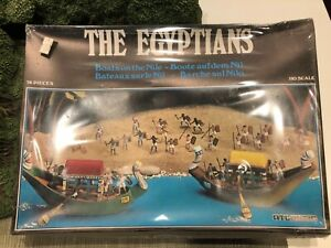 ATLANTIC THE EGYPTIANS BOATS OF THE NILE FACTORY SEALED HO SCALE
