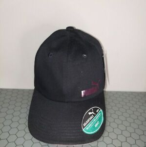 PUMA Black and Pink Headwear adjustable Cap  women's Fit