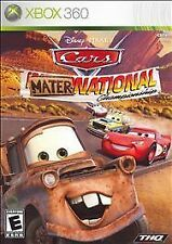 Cars Mater-National Championship (Microsoft Xbox 360, 2007) COMPLETE FAST SHIP !