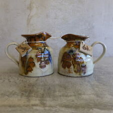 Vintage Robert Gordon Gembrook Pottery Oil and Vinegar Jugs Cruet Australian