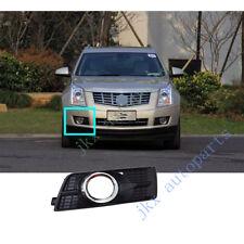 RH Passenger Lens Front Bumper Bezel Fog Lamp Cover j For Cadillac SRX 2010-2016