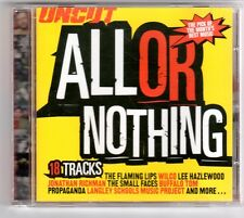(GQ213) All Or Nothing, 18 tracks various artists - 2002 - Uncut CD