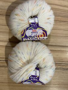 Avantgarde Classic By Adriafil 2 X 50 G Balls 3ply Yarn 100% Wool