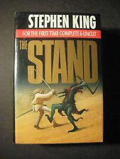THE STAND - FOR THE FIRST TIME COMPLETE & UNCUT Stephen King BCE 1990