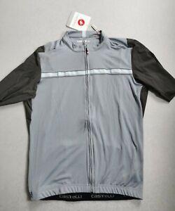 Castelli Unlimited Jersey Vortex Grey 2XL