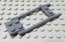 LEGO Dark Bluish Gray Castle Horse Animal Hitching Plate Accessory Piece