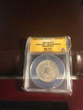 1865-S 50 cent ANACS 10