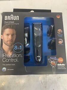 Braun Face & Head 8 In 1 Precision Trimming Kit