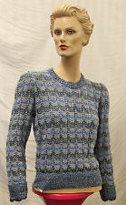 Womens 1940s Hand Knit Victory Jumper WW2 renactment Land Girl 40s World War Two