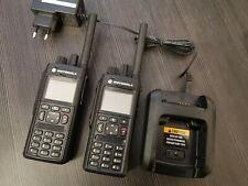 2x Motorola MTP3550 CLEAR 350-470 MHZ bluetooth AFU mit Ladegerät