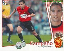 CAMPANO ESPANA RCD.MALLORCA CROMO STICKER LIGA ESTE 2005 PANINI