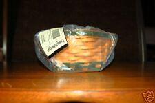 Longaberger 2006 Lucky Twist Basket Mint Signed (2)