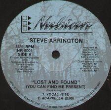 STEVE ARRINGTON - lost and found - nubian