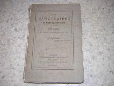 1874.les sanctuaires du diocèse de Saint-Claude.Jura