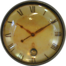 1 inch Crystal Dome Button Clock Face #7 FREE US SHIPPING