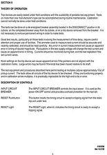 Instruction Manual, for AVO, SCB-100, SECONDARY TEST SET